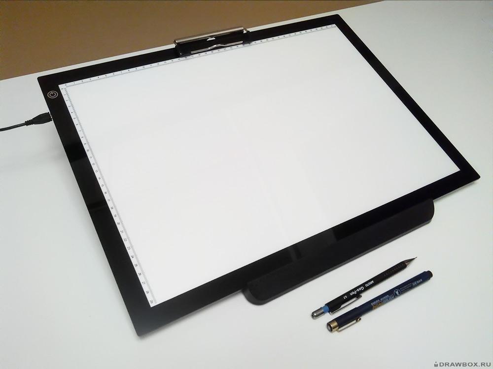Световой стол для рисования на просвет