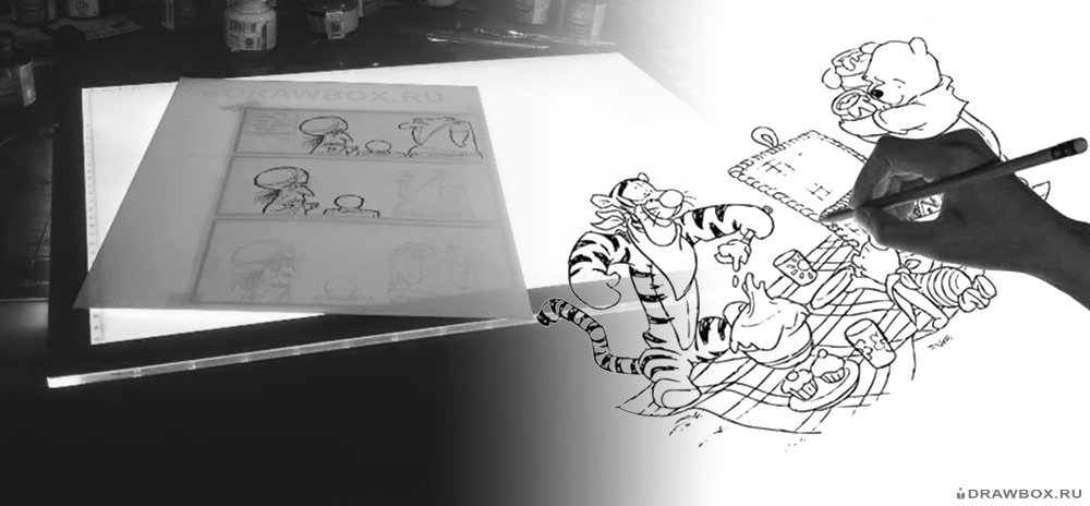 Стол для анимации и мультипликации