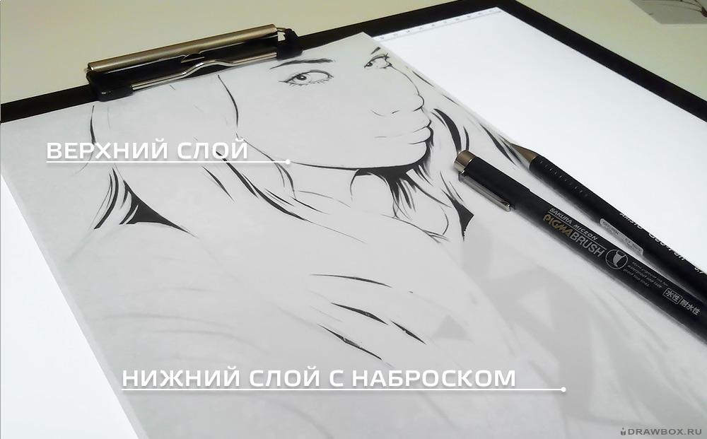 Световой планшет для рисования и копирования